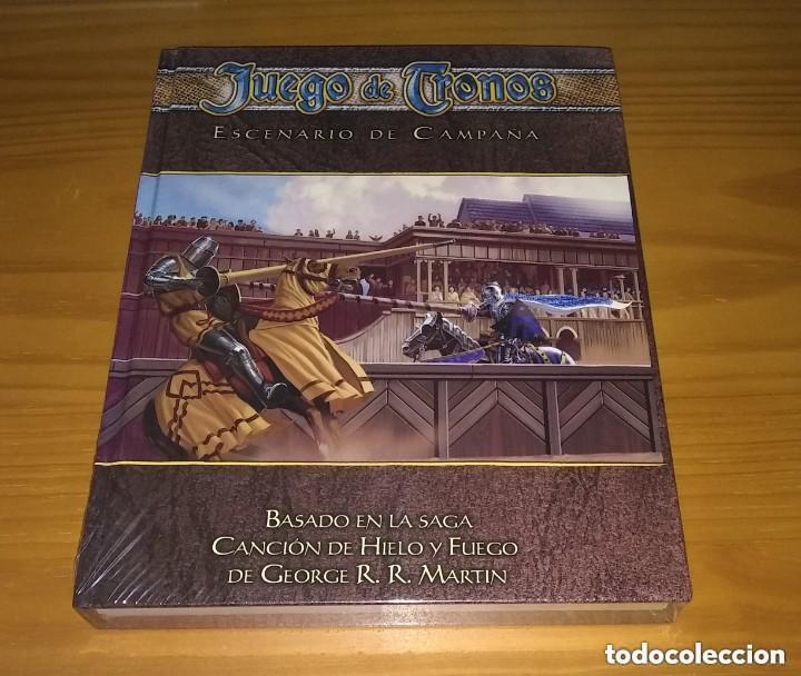 JUEGO DE TRONOS ESCENARIO DE CAMPAÑA D&D DUNGEONS AND DRAGONS ROL D20 DEVIR PRECINTADO (Juguetes - Rol y Estrategia - Juegos de Rol)