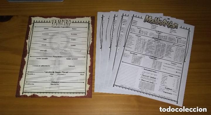 Juegos Antiguos: VAMPIRO LA MASCARADA 20º ANIVERSARIO EDICIÓN DELUXE V20 NOSOLOROL PRECINTADO + RECOMPENSAS MECENAZGO - Foto 6 - 253963170
