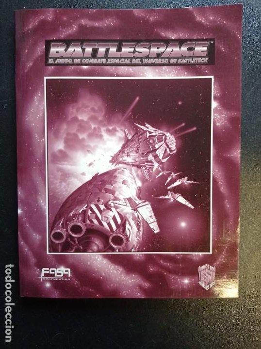 Juegos Antiguos: Battlespace El juego de combate espacial del universo de Battletech - Foto 3 - 250161715