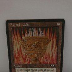 Jogos Antigos: CARTA MAGIC THE GATHERING ASHNOD S CYLIX. Lote 254363050