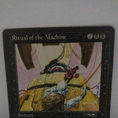 Jogos Antigos: CARTA MAGIC THE GATHERING RITUAL OF THE MACHINE. Lote 254364230