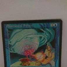 Jogos Antigos: CARTA MAGIC THE GATHERING PHANTASMAL SPHERE. Lote 254364640
