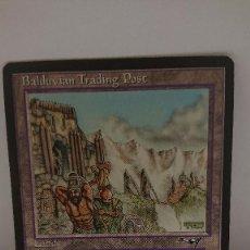 Jogos Antigos: CARTA MAGIC THE GATHERING BALDUVIAN TRADING POST. Lote 254366180