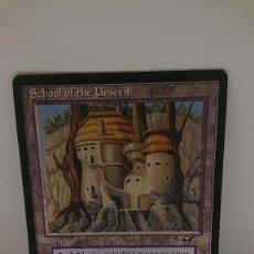 Jogos Antigos: CARTA MAGIC THE GATHERING SCHOOL OF THE UNSEEN. Lote 254366470