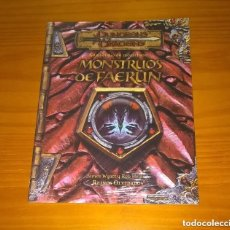 Juegos Antiguos: COMPENDIO DE MONSTRUOS: MONSTRUOS DE FAERUN REINOS OLVIDADOS D&D DUNGEONS ROL DEVIR PRECINTADO. Lote 254513825