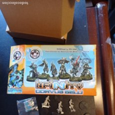 Juegos Antiguos: INFINITY CORVUS BELLI MILITARY ORDER PANOCEANICA SECTORIAL STARTER PACK. Lote 254577825