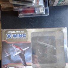 Juegos Antiguos: STAR WARS X-WING FANTASY FLIGHT BOMBARDERO DE LA RESISTENCIA. Lote 254616570