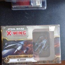Juegos Antiguos: STAR WARS X-WING FANTASY FLIGHT IG-2000 PRECINTADA. Lote 254616895