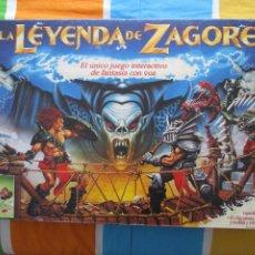 Juegos Antiguos: LA LEYENDA DE ZAGORE PARKER JUEGO MESA RPG ROL HERO QUEST HEROQUEST DUNGEONS & DRAGONS. Lote 255015035