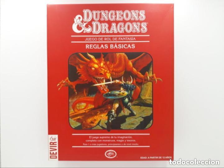 DUNGEONS & AND DRAGONS D&D LA CAJA ROJA JUEGO DE ROL (Juguetes - Rol y Estrategia - Juegos de Rol)