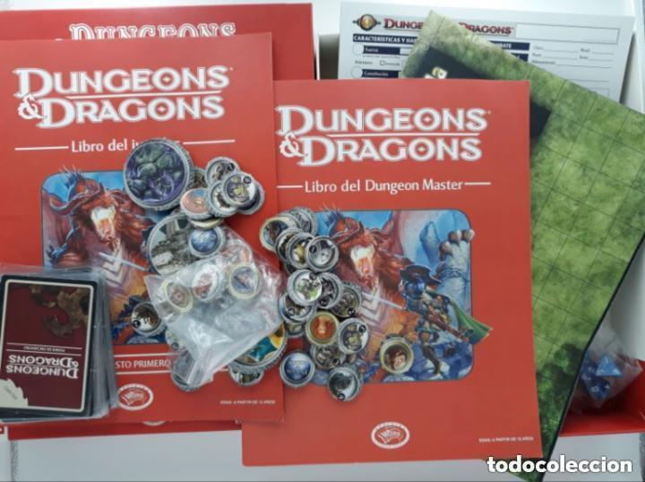 Juegos Antiguos: DUNGEONS & AND DRAGONS D&D LA CAJA ROJA JUEGO DE ROL - Foto 2 - 257572785