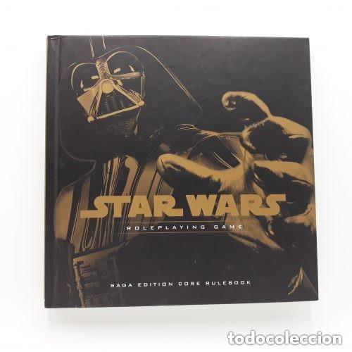 STAR WARS SAGA EDITION CORE RULEBOOK WIZARDS OF THE COAST ROL (Juguetes - Rol y Estrategia - Juegos de Rol)