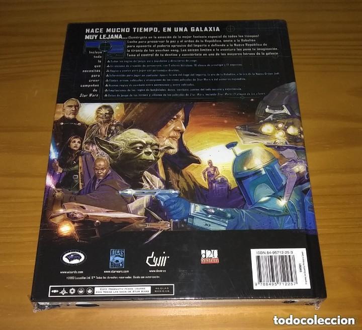 Juegos Antiguos: STAR WARS EL JUEGO DE ROL MANUAL BÁSICO REVISADO D20 DEVIR PRECINTADO - Foto 2 - 257575285
