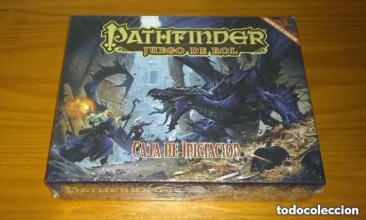 PATHFINDER CAJA DE INICIACIÓN D&D 3.5 ROL DUNGEONS AND DRAGONS DEVIR PRECINTADO (Juguetes - Rol y Estrategia - Juegos de Rol)
