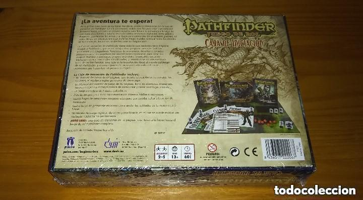 Juegos Antiguos: PATHFINDER CAJA DE INICIACIÓN D&D 3.5 ROL DUNGEONS AND DRAGONS DEVIR PRECINTADO - Foto 2 - 257581280