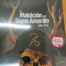 Juegos Antiguos: LA MALDICIÓN DEL SIGNO AMARILLO. ROL CTHULHU. Lote 257690460