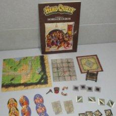 Jogos Antigos: HEROQUEST HERO QUEST MB, EXPANSIÓN CONTRA LA HORDA DE OGROS. Lote 257933675