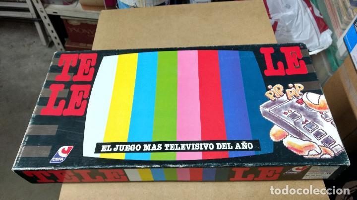 TELELE TELE LE CEFA TRIVIAL TELEVISIÓN DE LOS 80 (Juguetes - Rol y Estrategia - Otros)