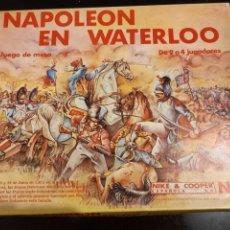 Jeux Anciens: WARGAME NAPOLEÓN EN WATERLOO, NAC. Lote 260608670
