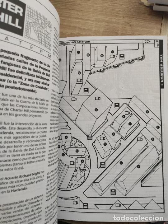 Juegos Antiguos: NIGHT CITY. PARA EL JUEGO DE ROL CYBERPUNK 2.0.2.0. M+D. NUEVO. INCLUYE MAPA GIGANTE A COLOR. - Foto 4 - 261555475