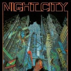 Juegos Antiguos: NIGHT CITY. PARA EL JUEGO DE ROL CYBERPUNK 2.0.2.0. M+D. NUEVO.. Lote 261555475