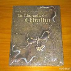 Juegos Antiguos: LA LLAMADA DE CTHULHU JUEGO DE ROL EN LOS MUNDOS DE H.P. LOVECRAFT PRECINTADO. Lote 261660195