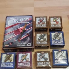 Juegos Antiguos: WW1 RULES AND ACCESSORIES PACK Y 8 AIRPLANE PACKS WINGS OF GLORY. Lote 261889815