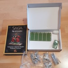 Juegos Antiguos: SAGA AGE OF CRUSADES ORDENSTAAT- TEUTONIC KNOGHTS WARBAND 4 POINTS. Lote 261894135