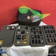 Juegos Antiguos: MALETÍN JUEGOS FIGURAS PLOMO CORVUS BELLI INFINITY CON CARDS. VER FOTOS. Lote 262104640