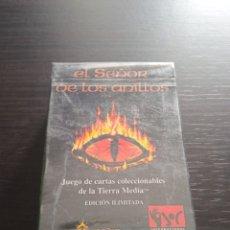 Juegos Antiguos: MAZO DE CARTAS EL SEÑOR DE LOS ANILLOS. JOC INTERNACIONAL. OTRA. Lote 262886450