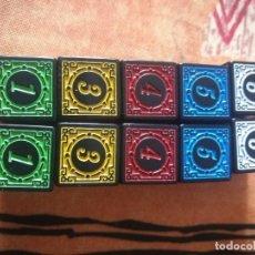 Juegos Antiguos: DADOS COLORES DE ROL. Lote 262915015