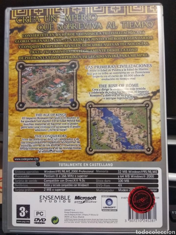 Juegos Antiguos: AGE OF EMPIRES COLLECTORS EDITION - Foto 2 - 263074780