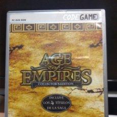Juegos Antiguos: AGE OF EMPIRES COLLECTOR'S EDITION. Lote 263074780