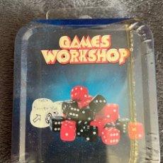 Juegos Antiguos: GAMES WORKSHOP DICES CITADEL DADOS WARHAMMER. Lote 263081825