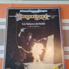 Juegos Antiguos: SEÑORES DEL ROBLE - DRAGONLANCE - JUEGO DE ROL - ADVANCED DUNGEONS AND DRAGONS. Lote 263090130