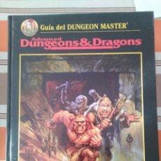Juegos Antiguos: GUIA DEL DUNGEON MASTER - ADVANCED DUNGEONS - JUEGO DE ROL. Lote 263092160