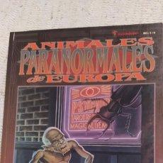 Juegos Antiguos: ANIMALES PARANORMALES DE EUROPA, SHADOWRUN. Lote 264044280
