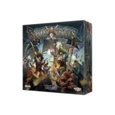 Juegos Antiguos: PACK RUM AND BONES CAJA BASICA Y EXPANSIONES MALDICION MAZU Y BRISE SANGUINE (PRECINTADOS). Lote 265848734