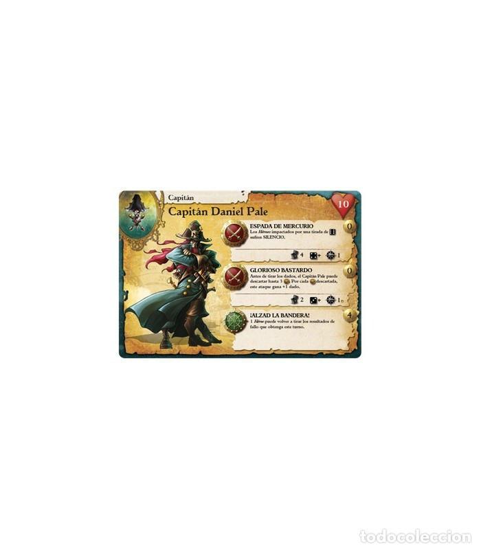 Juegos Antiguos: Pack Rum and Bones Caja Basica y Expansiones Maldicion Mazu y Brise Sanguine (Precintados) - Foto 2 - 265848734