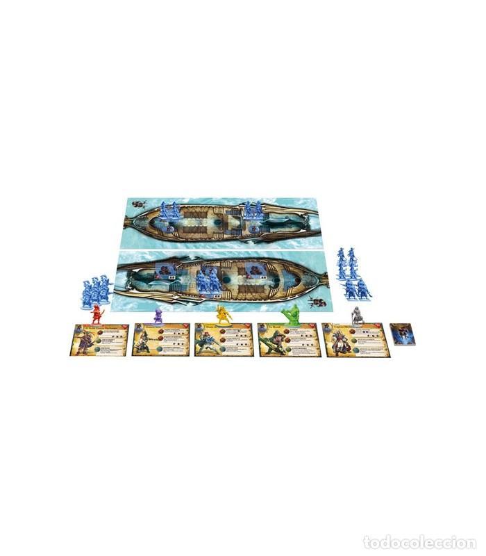 Juegos Antiguos: Pack Rum and Bones Caja Basica y Expansiones Maldicion Mazu y Brise Sanguine (Precintados) - Foto 6 - 265848734