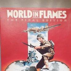 Juegos Antiguos: WARGAME WORLD IN FLAMES, ADG. Lote 266537008
