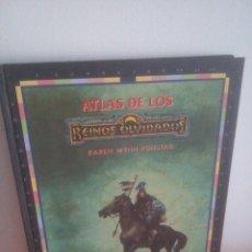 Jeux Anciens: ATLAS DE LOS REINOS OLVIDADOS - KAREN WYNN FONSTAD - TIMUN MAS. Lote 267743239