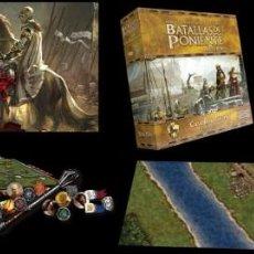 Juegos Antiguos: BATALLAS DE PONIENTE JUEGO DE TABLERO + CASA BARATHEON: EXPANSIÓN EJÉRCITO JUEGO DE TRONOS EDGE. Lote 269031309