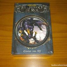 Juegos Antiguos: WARHAMMER EL JUEGO DE ROL COFRE DEL DJ (DIRECTOR DE JUEGO) EDGE PRECINTADO. Lote 269028334