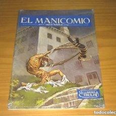 Juegos Antiguos: EL MANICOMIO Y OTROS RELATOS SUPLEMENTO JUEGO DE ROL LA LLAMADA DE CTHULHU JOC 103 PRECINTADO. Lote 269316858