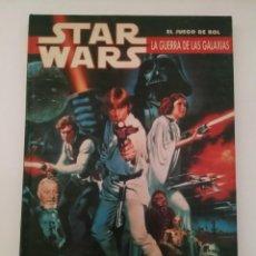 Juegos Antiguos: STAR WARS. LA GUERRA DE LAS GALAXIAS. EL JUEGO DE ROL - JOC INTERNACIONAL 1A EDICIÓN 1990. Lote 269463863