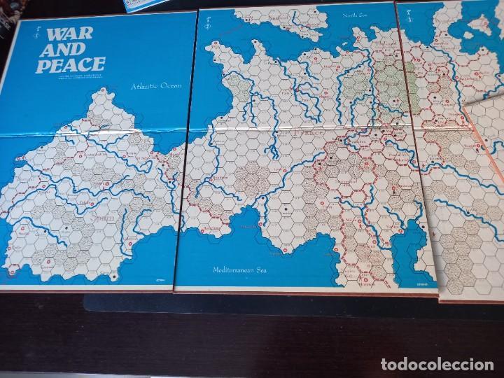 Juegos Antiguos: Wargame Guerra y paz de avalon hill - Foto 4 - 269478263