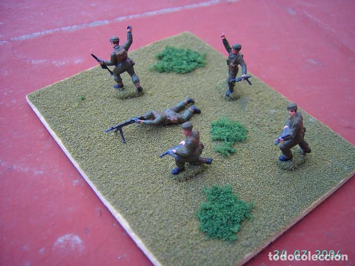 Juegos Antiguos: DIORAMA COMANDOS INGLESES II GUERRA MUNDIAL.ESCALA 1/72. - Foto 2 - 269771018