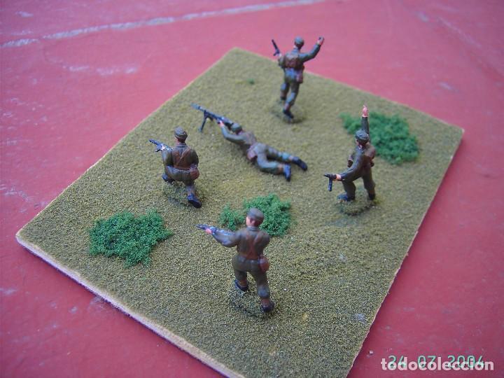 Juegos Antiguos: DIORAMA COMANDOS INGLESES II GUERRA MUNDIAL.ESCALA 1/72. - Foto 3 - 269771018