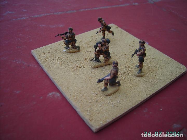 Juegos Antiguos: DIORAMA SOLDADOS AMERICANOS EN IRAK.ESCALA 1/72. - Foto 2 - 269771333